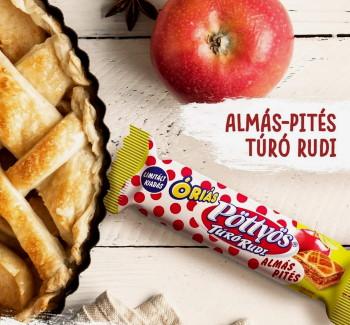 Almás-pités Túró Rudi